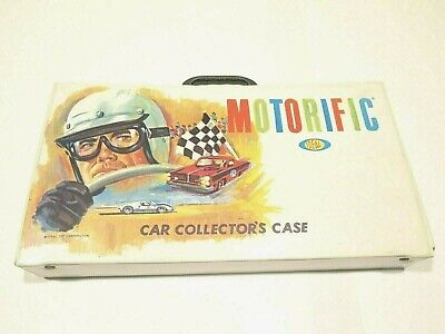 Vintage Motorific Car Collectors Case