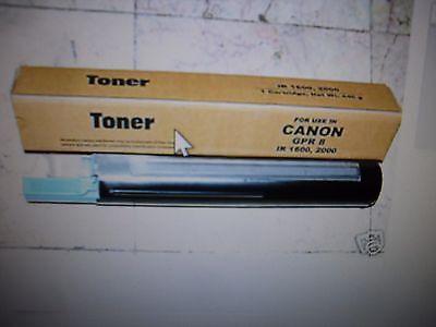2 X Toner Cartridge For Canon Copier Gpr-8 Gpr8 Ir 1600 2...