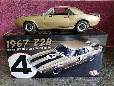 """ACME Trading Co. 1967 Chevrolet Camaro Z28 """"1 OF 28 PRODUCED""""  #11/28 1:18 RARE!"""