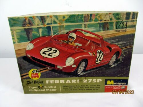 Monogram 1/24 Ferrari 275P Slot Racing Car