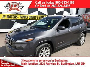 2015 Jeep Cherokee North, Automatic, Back Up Camera, 50, 000km