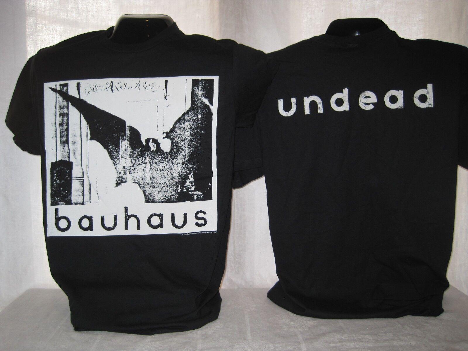 Bauhaus T-Shirt Tee Peter Murphy Ash Haskins Rock Band Music Apparel New 01