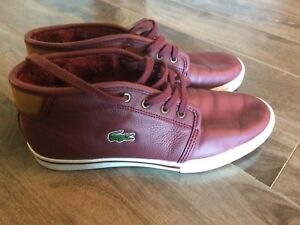 Lacoste Sneakers -Size 7.5