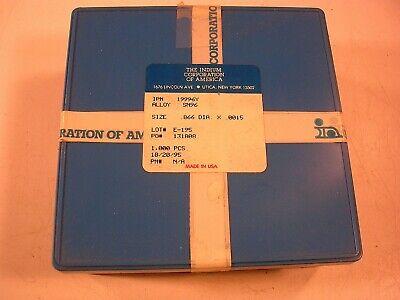Indium Disks Sn96 Part Number 199964