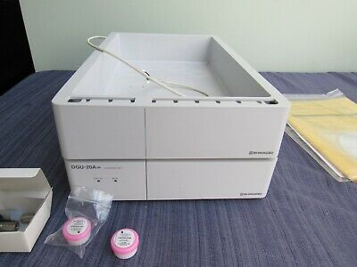 Shimadzu Dgu-20a3r Hplc 3 Channel Degasser With Reservoir Tray Softwareextras