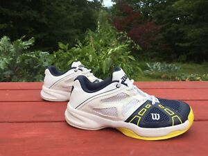Brand new youth Wilson tennis shoes. (Size 5)