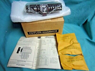 Cutler Hammer Phase Monitor Relay C323pn12cmanual Terminals- New