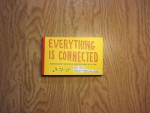 NEW!! Everything is connected  card postcard