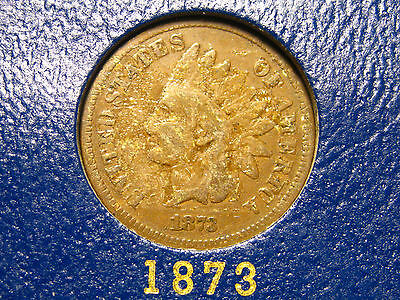 1873 INDIAN HEAD CENT                                                     5TH