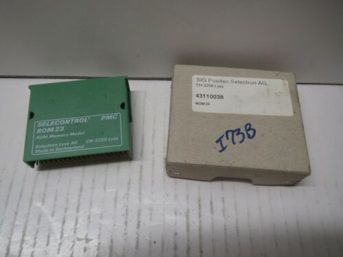 SELECONTROL 43110038 PMC ROM 23 MEMORY MODULE