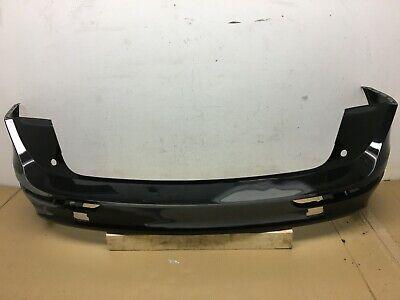 2009-2017 Audi Q5 S LINE Rear Bumper Cover Upper OEM Black Repair No Dents 10 11