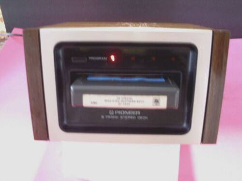 8 TRACK PLAYER PIONEER H--22 VERY CLEAN ,WORKING PERFECT TECH SERVICED