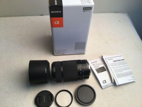 Sony SEL 55-210mm f/4.5-6.3 Aspherical IS OSS Lens for E mount +hoya filter