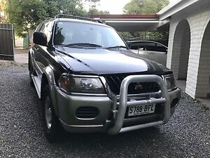Mitsubishi challenger 2001 Redwood Park Tea Tree Gully Area Preview