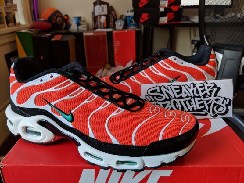 2a7150ea06 Nike Air Max Plus TN Tuned 1 Team Orange Teal Neptune Green Black 852630-801