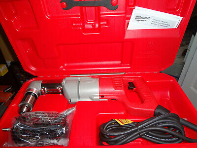 Milwaukee 3107-6 12 Right Angle Drill Wcase