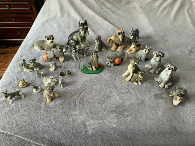 Miniature Schnauzer Figurine Collection