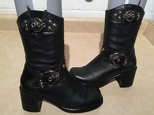 Women's Harley Davidson Leather Boots Size 6.5 London Ontario image 1