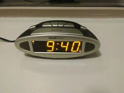CHANEY DIGITAL ALARM CLOCK INTELLI-TIME TECH. 13027-Stores Time-Auto Sets DST