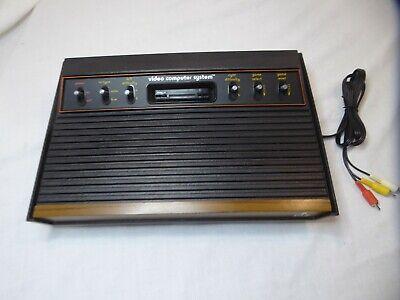Atari 2600 6er Console only A/V Modded Seller Refurbished