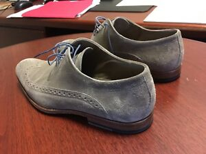 Hugo Boss Oxford Men Shoes Suede