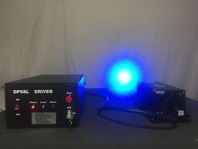 600 Mw 473nm Blue Dpss Laser Module Fb-473-600-fs-1-1-st Driver Adr2200