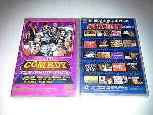 10 comedy an action movie packs Carrum Downs Frankston Area Preview