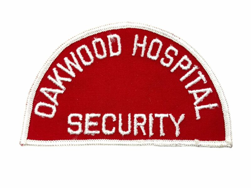 US Oakwood Hospital Security Police Patch