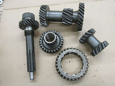 1964 -65 TRANSMISSION GEAR SET TEMPEST LEMANS 6 CYL 3 SPEED 6 Speed Transmission Gear Set