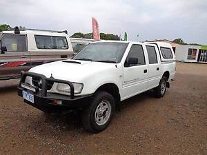 2002 Holden Rodeo 4x4 crew cab 3 lt des Ute Mansfield Mansfield Area Preview