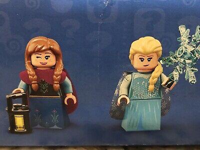 Disney lego minifigures series 2 Elsa and Anna Frozen