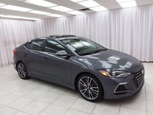 "2017 Hyundai Elantra ""ONE OWNER"" ELANTRA SPORT TURBO SEDAN w/ BL"
