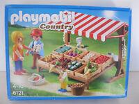 Playmobil 6121 Country Gemüsestand mit Zubehör 54-teilig  NEU//OVP