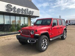 2019 Jeep Wrangler Unlimited Sahara LEATHER! TURBO! AUTOMATIC!