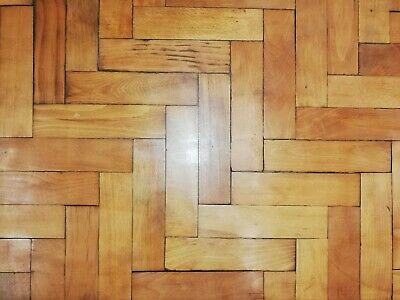 Reclaimed Period American Beech Parquet Block Flooring  -  Warwick Reclamation