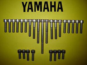 Yamaha SR125 SR 125cc Stainless SS Engine Allen Screw Kit New * UK FREEPOST *