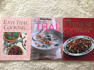 Asian cooking books - Thai and chinese Wilberforce Hawkesbury Area Preview