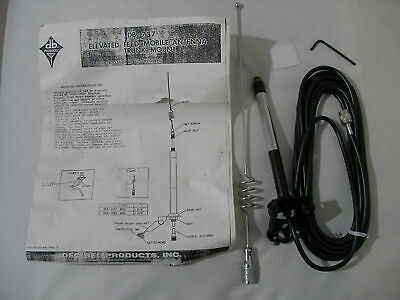 Db Products 737 806-870 825-890 Mhz Antenna Whip Trunk Mount - Ham Radio
