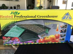 Heated Professional Greenhouse - Germinate your own seeds
