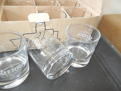Sierra Tequila / Tumbler / 12 Stück / neue Sammlerstücke in Originalkarton / RAR