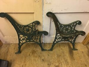 Bench brackets - cast iron