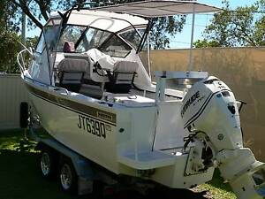 Pacific 5.5 Meter Plate hull Cuddy Cab VGC Kippa-ring Redcliffe Area Preview