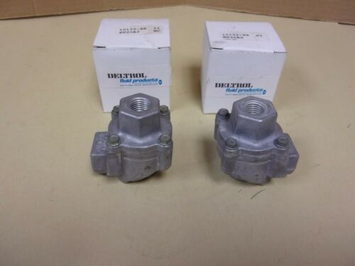 Deltrol Fluid Products EV20A2 Quick Exhaust Valve , Lot Of 2
