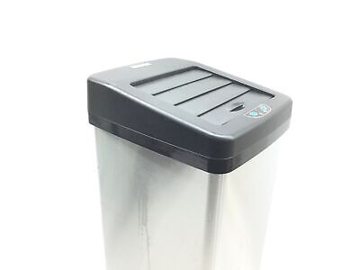 iTouchless 14 Gallon Sliding Lid Automatic Sensor Trash Can with Odor Filter Sys