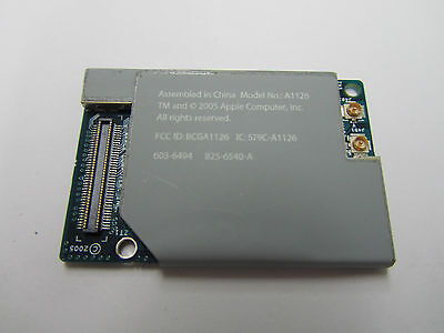 "APPLE AirPort Extreme Bluetooth Combo Card A1126 For G4, G5 iBook 12"",14"""