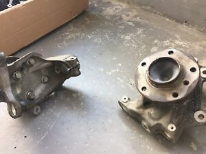 BMW e90 335i front knuckles and hub assembly