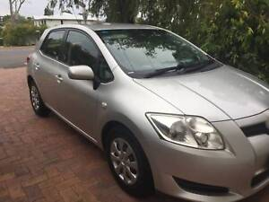 2007 Toyota corolla ascent hatchback manual in silver