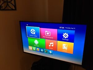 2018 Samsung 43 inch LED tv
