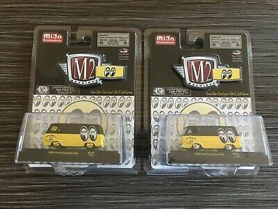 M2 Mooneyes 1965 Ford Econoline Van, MiJo Exclusive GOLD CHASE & REGULAR MJS07