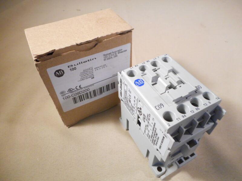 Allen Bradley 100-C09D200 contactor, 120V (NIB)